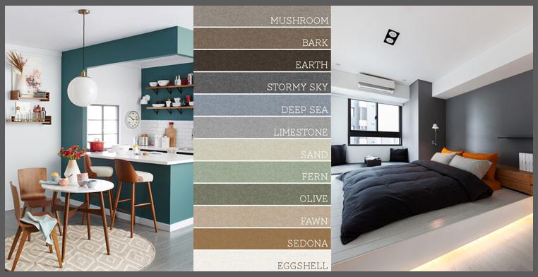 Tinteggiare casa strategie e abbinamenti di colori - Colori pareti casa ...