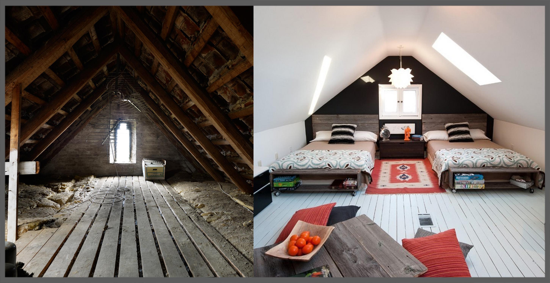 Sottotetto diamogli una nuova luce - Alzare il tetto di casa ...