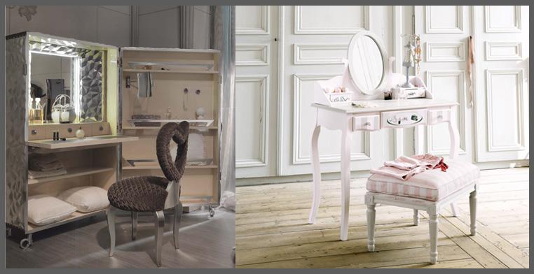 Mobili Salvaspazio Camera Da Letto : Consigli per una beauty station salvaspazio