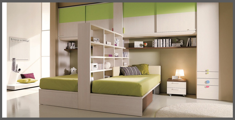 Cameretta per due progettazione casa for Cameretta per due