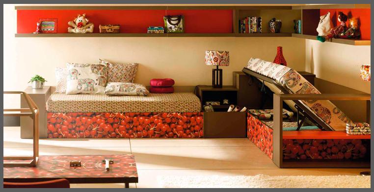 Cameretta per due progettazione casa - Camera da letto doppia ...