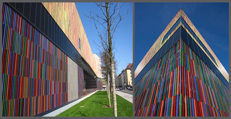 L architettura diventa dipinto progettazione casa for Opzioni materiale esterno casa