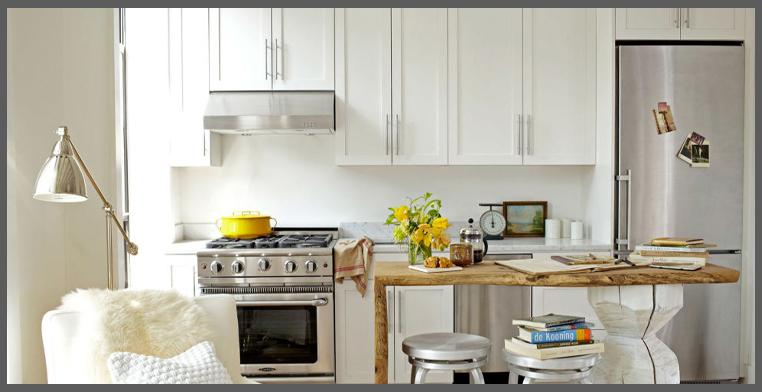 Una piccola cucina con le scarpe nel forno - Creare una cucina ...
