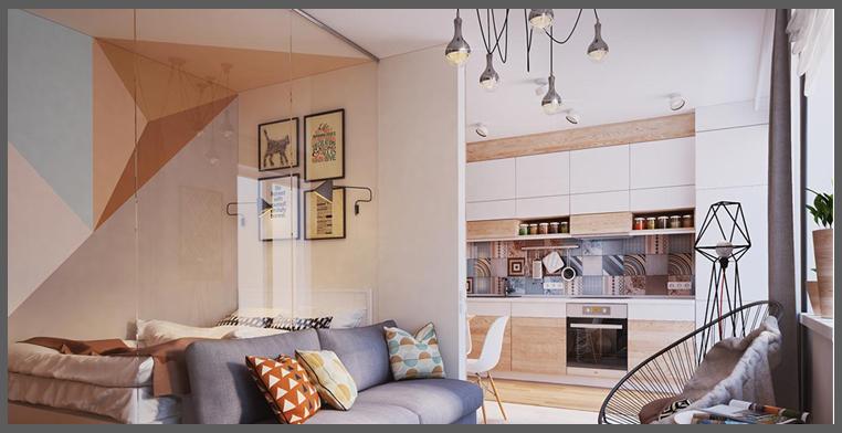 Una piccola cucina con le scarpe nel forno for Cucina soggiorno piccola