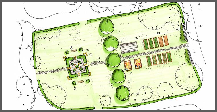 planimetria _giardino