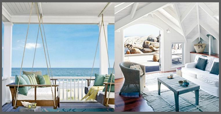 ambienti della casa al mare