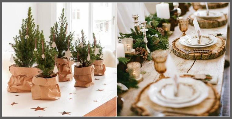 Come apparecchiare la tavola di natale - Decorazioni natalizie tavola ...