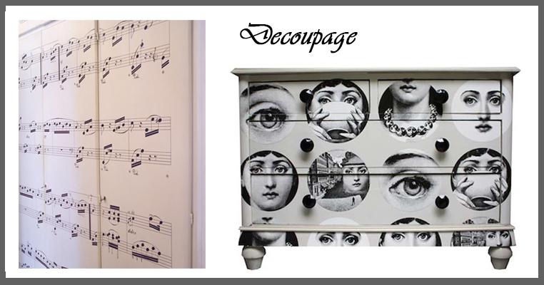 Rinnova il tuo armadio - Decoupage mobili ...