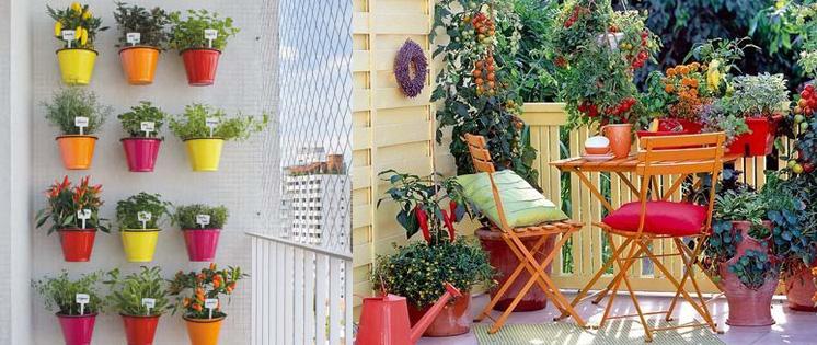 orto sul balcone