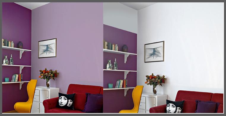parete tocchi di colore