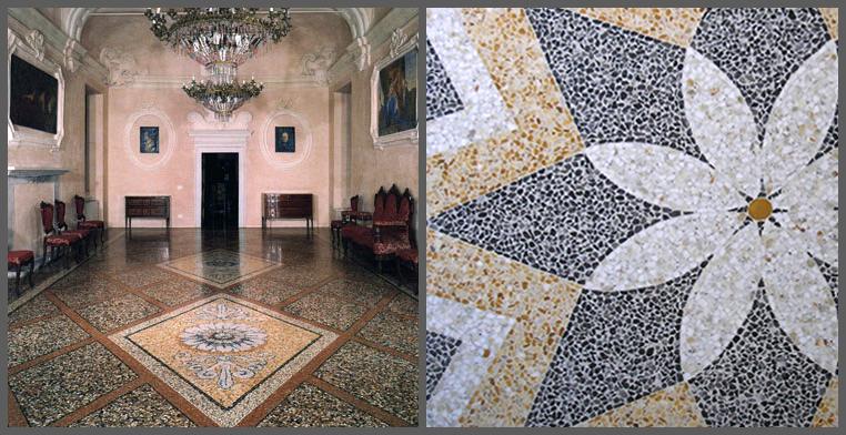 Pavimenti di stile la tradizione diventa lusso - Piastrelle tipo veneziana ...