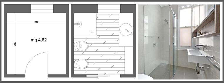 Il maggior vantaggio di un bagno quadrato è che grazie alla sua ...