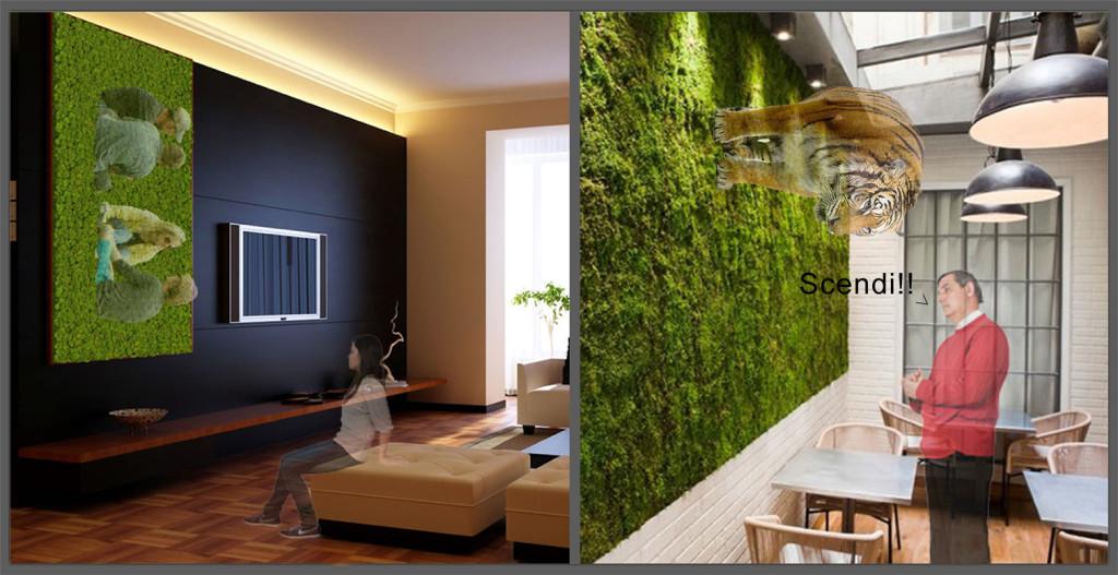 Pareti Salotto Verde : Verde verde ovunqueee anche sulle pareti
