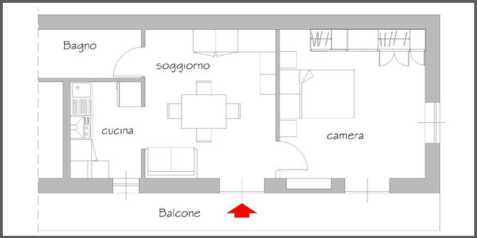Soluzioni per arredare piccoli spazi progettazione casa for Soluzioni economiche per arredare casa