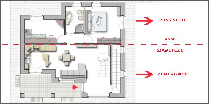 Open space tre ambienti in uno progettazione casa for Piano terra della casa