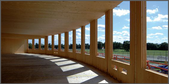 edilizia sostenibile in legno