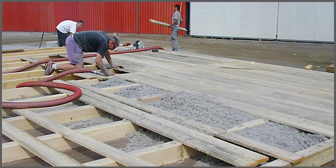 Come costruire una casa in paglia progettazione casa for Fondazioni per case in legno