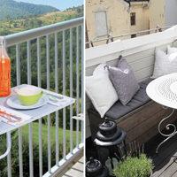 Scoprite come arredare un piccolo balcone - Arredare balconi e terrazzi ...