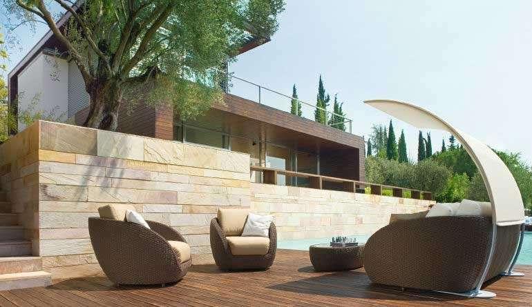 Arredo terrazza moderna