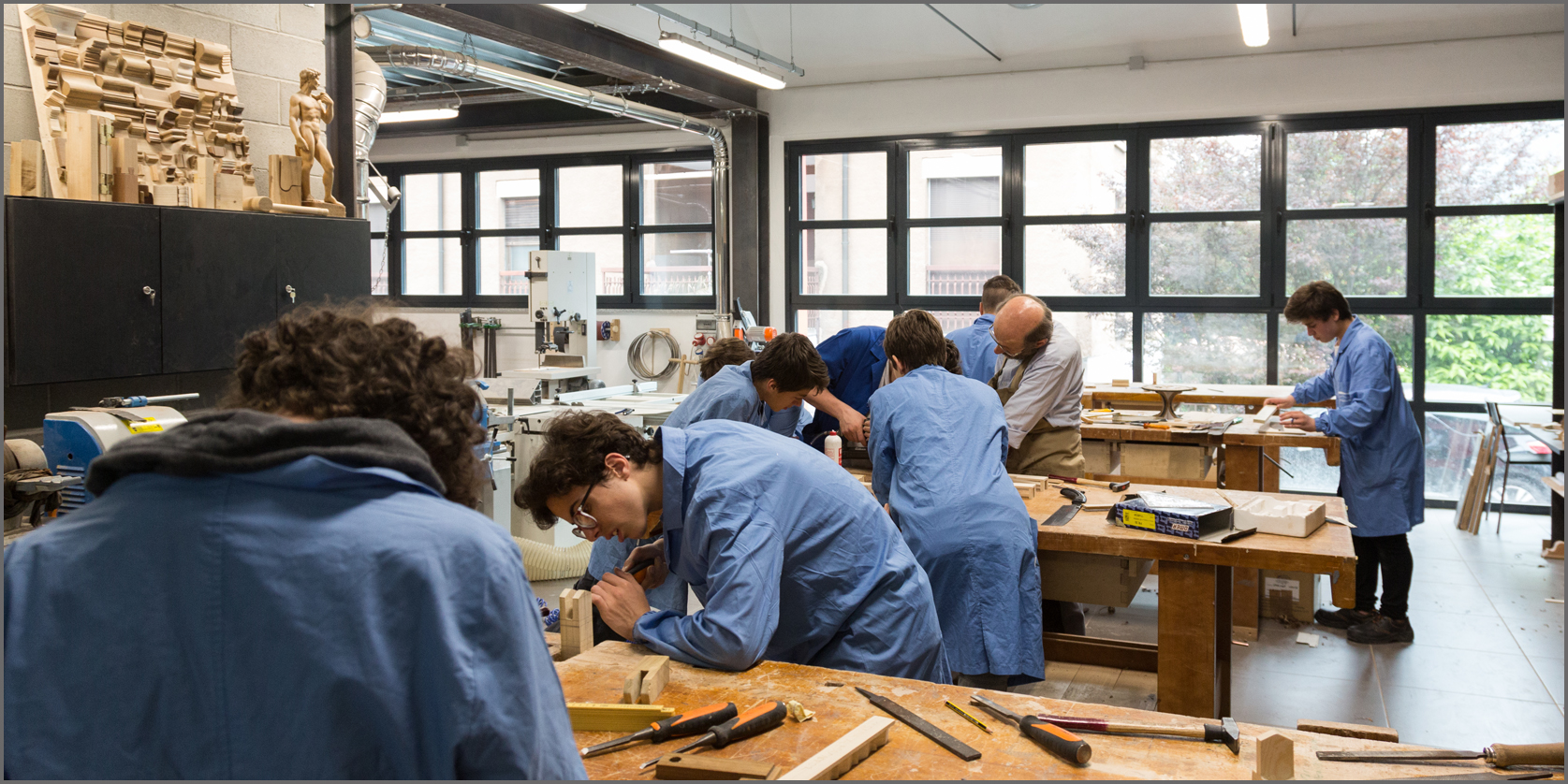 interior design botteghe artigiani Cometa