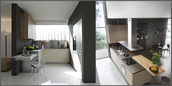 Cucina Con Penisola Stile E Funzionalita Progettazione Casa