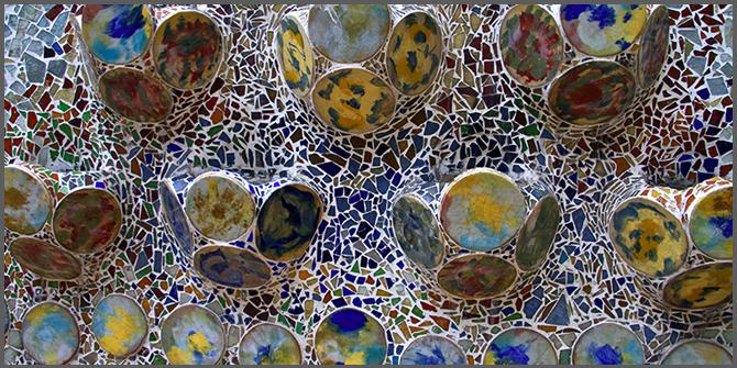 mosaici in architettura