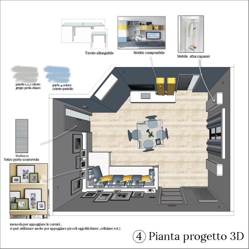 progettare stanza 3d