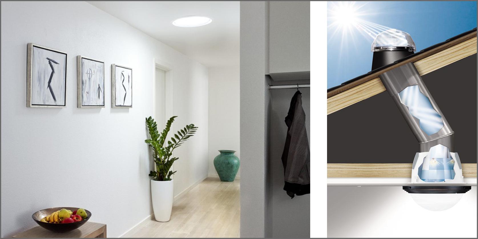 Tunnel Solare A Parete soluzioni per illuminare una stanza buia-parte i